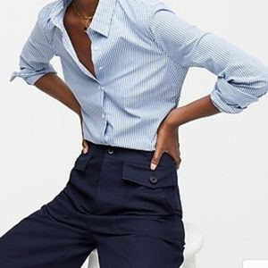J.crew J8740 Tall slim stretch perfect shirt